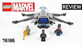 레고 마블 76186 블랙팬서 드래곤 플라이어(LEGO Marvel Black Panther Dragon Flyer)  리뷰_Review_레고매니아_LEGO Mania