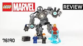 레고 마블 76190 아이언맨 아이언 몽거 대소동(LEGO Marvel Iron Man Iron Monger Mayhem)  리뷰_Review_레고매니아_LEGO Mania