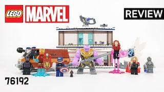레고 마블 76192 어벤져스 엔드게임 최종 결전(LEGO Marvel Avengers Endgame Final Battle)  리뷰_Review_레고매니아_LEGO Mania
