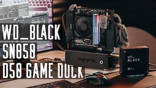 선택과 집중.  WD_Black NVMe SSD SN850 & D50 게이밍 독