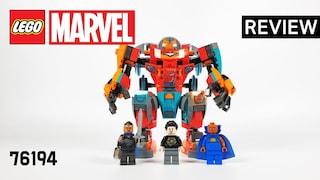 레고 마블 76194 토니 스타크의 사카리안 아이언맨(Marvel Tony Stark's Sakaarian Iron Man)  리뷰_Review_레고매니아_LEGO Mania