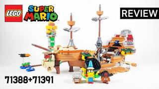 레고 슈퍼마리오 71388 케이케이왕 토플타워 확장팩 & 71391 쿠파의 비행선 확장팩  리뷰_Review_레고매니아_LEGO Mania