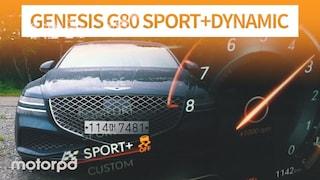 제네시스 최초의 후륜조향  G80 3.5T 스포츠 + 다이내믹 패키지 (자동차/리뷰/시승기)