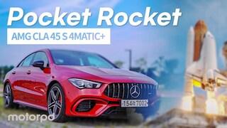 AMG의 포켓 로켓! 더 뉴 메르세데스 AMG CLA 45 S 4MATIC+ 리뷰! (자동차/리뷰/시승기)