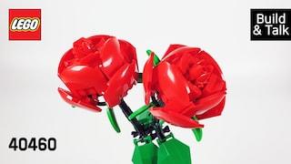 [조립&수다] 레고 40460 장미(LEGO Roses)  레고매니아_LEGO Mania(Build & Talk)