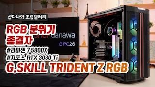 RGB 분위기 종결자 - G.SKILL TRIDENT Z RGB