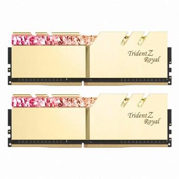 G.SKILL DDR4-3200 CL16 TRIDENT Z ROYAL 골드 패키지 (64GB(32Gx2))