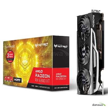 SAPPHIRE 라데온 RX 6900 XT NITRO+ OC D6 16GB Tri-X