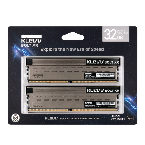 ESSENCORE KLEVV DDR4-3600 CL18 BOLT XR 패키지(32GB(16Gx2))