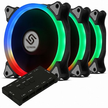 앱코 SUITMASTER HALO 120F RGB SPECTRUM KIT