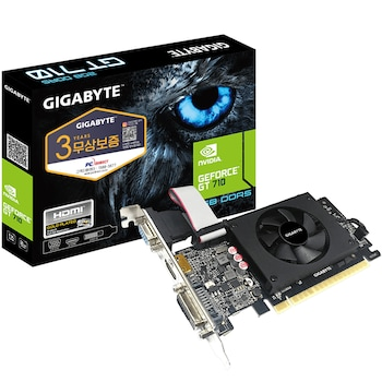 GIGABYTE 지포스 GT710 UD2 V2 D5 2GB 미니미 피씨디렉트