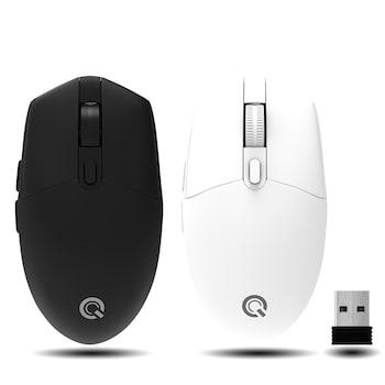 QSENN M1000 무선 마우스 (블랙)