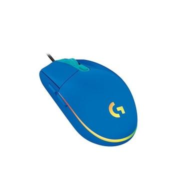 로지텍 G102 LIGHTSYNC (정품) (블루)