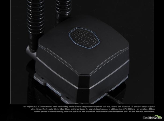 쿨러마스터 Nepton 280 L 제품 갤러리 이미지