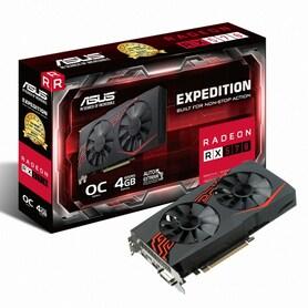 ASUS EX 라데온 RX 570 O4G D5 4GB