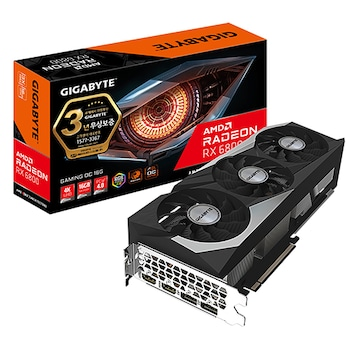 (메인보드포함/실재고보유) GIGABYTE 라데온 RX 6800 Gaming OC D6 16GB 제이씨현 + GIGABYTE H410M DS2V V2 듀러블에디션