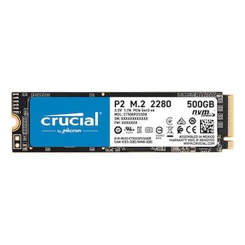마이크론 Crucial P2 M.2 NVMe 아스크텍 (500GB)