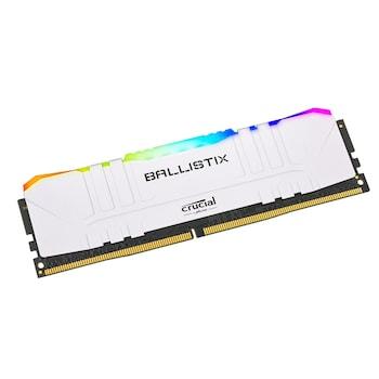 마이크론 Crucial Ballistix DDR4-3600 CL16 RGB White (8GB)