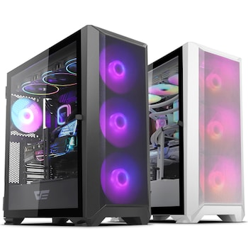 darkFlash DLX23 NEO MESH RGB 강화유리 (화이트)